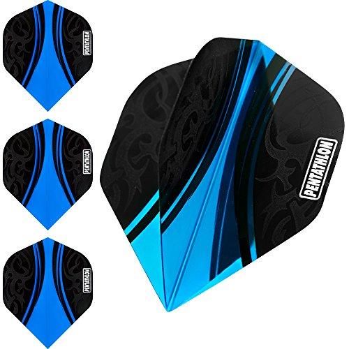pentathlon-couleur-plus-flechettes-vols-centre-couleurs-bleu-1-set-3