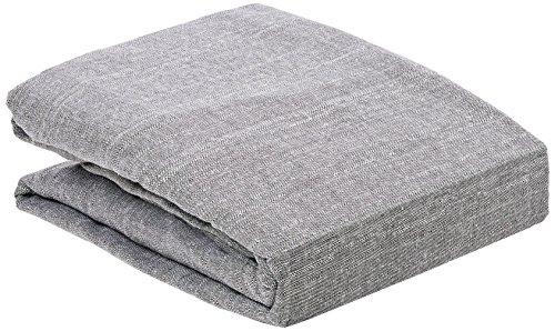 Zebra Textil 43599, Copridivano BERET con ottomana a sinistra, Blu