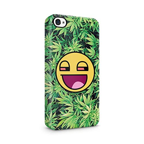 420 Mary Jane Stoned Away Blurred Tie Dye Custodia Posteriore Sottile In Plastica Rigida Cover Per iPhone 7 & iPhone 8 Slim Fit Hard Case Cover Weed Stoned Smile