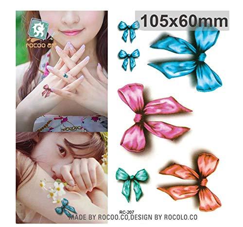 Sdefgh adesivo tatuaggio decorazioni per bambini bambina ragazzi3d farfalla impermeabile s temporanea per uomo donna colori piccolo sticke g