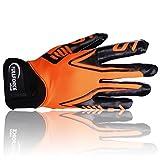 Full Force - Titanium Lite Receiver Handschuhe neon orange