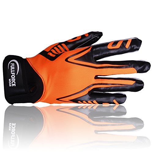 Full Force - Titanium Lite Receiver Handschuhe neon orange