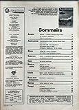 AVIATION MAGAZINE N? 883 du 01-11-1984 AVIONS D???AFFAIRES - BALLONS EN TUNISIE - SOMMAIRE - ACTUALITES - EDITORIAL - L???AVENIR N???EST PLUS CE QU???IL ETAIT - DE LONDRES ET WASHINGTON - FAITS ET COMMENTAIRES - AVIATION GENERALE - CHAMPIONNAT DE FRANCE ET COUPE MARCEL DORET - INFORMATIONS - CENT MILLE ULM CENT MILLE PILOTES - 100 CHEVAUX POUR UN P 80S - PARTENAVIA SPARTACUS - LE BON CRENEAU - DEFENSE - BUDGET 85 - RIGUEUR ET AUSTERITE - UN ORION - POUR LA DETECTION AVANCEE - EQUIPEMENTS - NB......