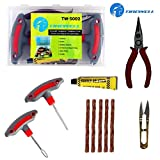 TIREWELL TW-5002 6 in 1 Universal Tubeless Tire Puncture Kit Emergency Flat Tyre