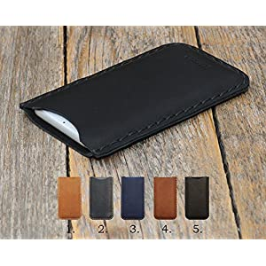 Huawei Hülle Leder Cover Tasche Case personalisiertes Etui durch Prägung mit ihrem Namen