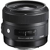 Sigma 30mm f1,4 DC HSM / Art Objektiv (Filtergewinde 62mm) für Canon Objektivbajonett