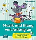 Musik und Klang von Anfang an: Die schönsten Ideen für Krippe, Kita und Eltern-Kind-Gruppen (Krippenkinder betreuen und fördern)