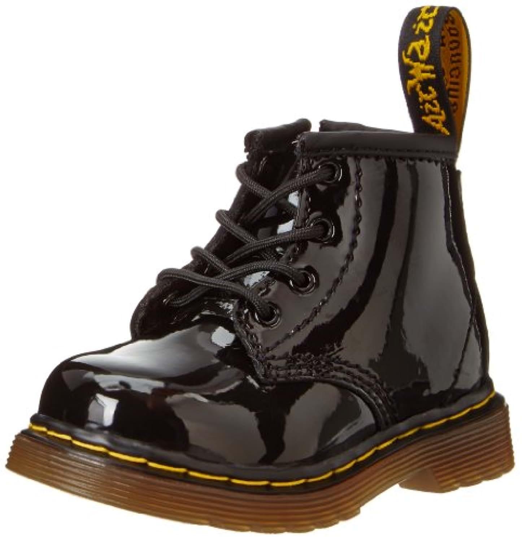 Dr Martens Brooklee B Boots - Black Patent