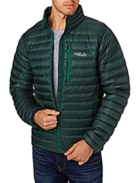 RAB MENS MICROLIGHT JACKET EVERGREEN/GREEN (SMALL)