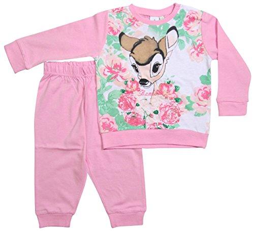 Bambi Kollektion 2017 Schlafanzug 74 80 86 92 98 Mädchen Pyjama Disney Neu Reh Rosa (74 - 80; Prime, (Kleid Kitty Mädchen Hello)