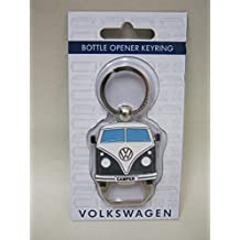 Llavero y abridor de botellas, diseño de Volkswagen Campervan, color negro