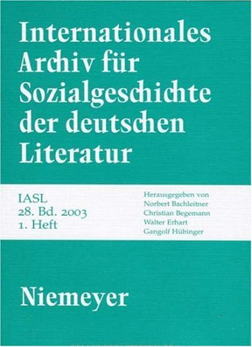 Internationales Archiv für Sozialgeschichte der deutschen Literatur (IASL)