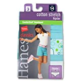 Hanes Gncs40Classics Filles Coton stretch Hipster avec taille ultra-doux 147Taille 4& # 44; assortis