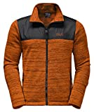 Jack Wolfskin Herren Aquila Jacket Fleece Jacke M Desert Orange