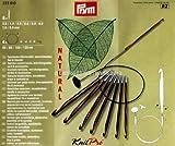 Prym Tunes. Häkelnadel Set 3,50 4,00 4,50 5,00 5,50 6,00 7,00 8,00 mm farbig für 60 80 100 120 cm