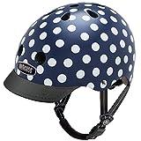 Nutcase Street Navy Dots Matte MIPS Multisport Helm, Größe:L (60-64 cm)