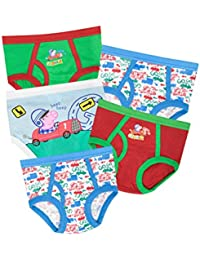 f80138f9d3 Peppa Pig George Pig Boys George Pig Briefs Ages 18 Months to 7 Years