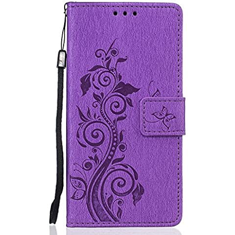 Buona Qualità PU Leather Wallet Paraurti per Huawei P9 Lite,