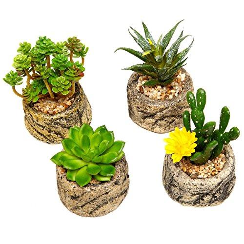 set-assortito-di-4-mini-piante-grasse-artificiali-finte-verdi-con-ghiaietto-vasetto-in-cemento-simil