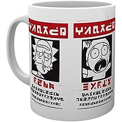 GB Eye LTD, Rick and Morty, Wanted, Taza