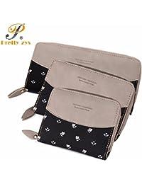 MOCA (Cat With BowKnot) PU Leather Womens Women's Wallet Long Clutch Wallet Hand Purse For Womens Women's Girls...
