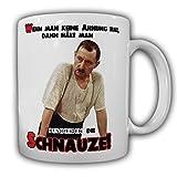 Alfred Tetzlaff Schnauze halten - Alfred Ein Herz und eine Seele TV Kult Serie Humor Spaß Fun Kollegen Büro Pause - Tasse Kaffee Becher #14352