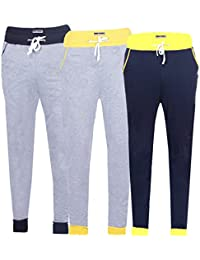 b746763f3 TEESTADKA MEN'S COTTON SLIM FIT JOGGERS CUM TRACKPANTS FOR MEN COMBO OFFER  FOR MEN VALUE PACK