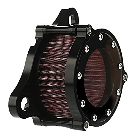 CICMOD New Motorbike Clear Air Cleaner + Intake Filter Syetem