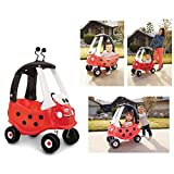 Mga Little Tikes - 0706136 - Rollers - Cozy Coupe - Lady Bird