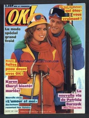 La Peau Froide - OK [No 261] du 09/01/1981 - QUI