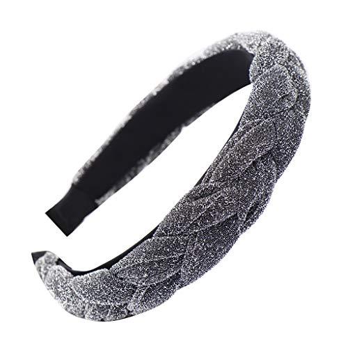Haarbandssasstaids Boho Leopard Twist Knoten Stirnband