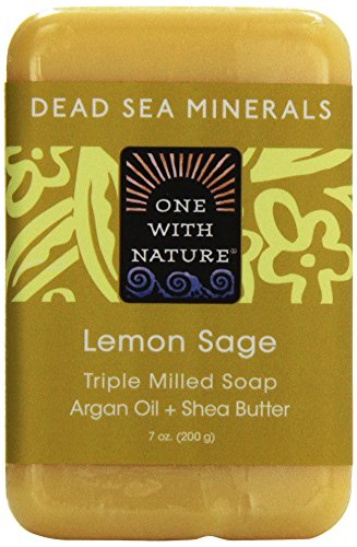 One with Nature, Triple Milled Soap Bar, Lemon Sage, 7
