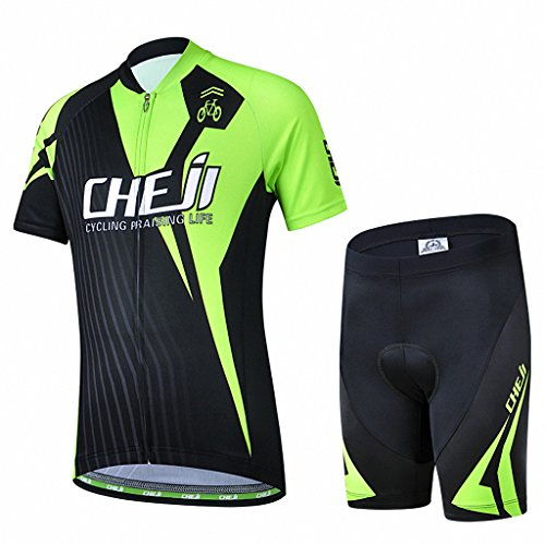 Ateid Maillot de Ciclismo y Pantalones Cortos para...