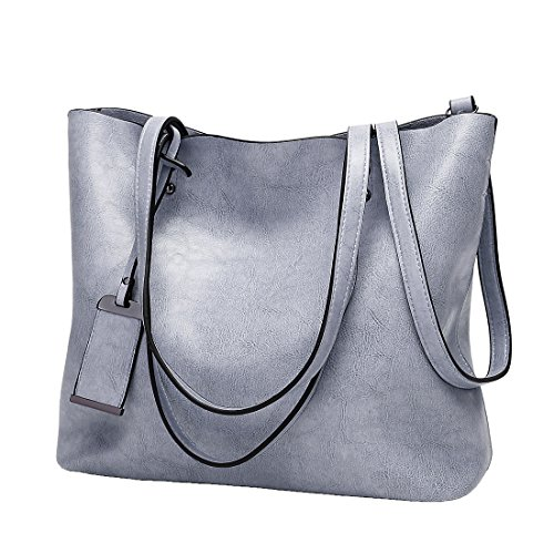 YYW Large Tote Bag, Borsa a mano donna Blue