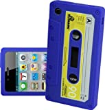 IPHONE 3G 3GS BLUE CASSETTE RETRO TAPE GEL COVER SILICONE CASE SKIN iTAPE From Gadget Zoo