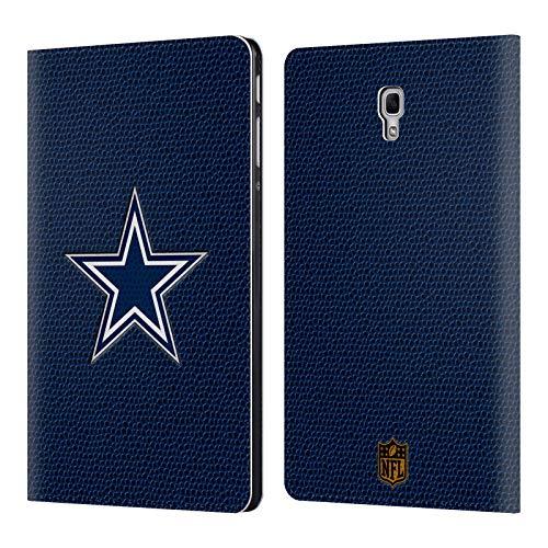 Head Case Designs Offizielle NFL Fussball Dallas Cowboys Logo Brieftasche Handyhülle aus Leder für Samsung Galaxy Tab A 10.5 (2018) - Dallas Design