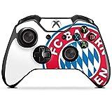 DeinDesign Skin Aufkleber Sticker Folie für Microsoft Xbox One Controller FC Bayern München Bundesliga Fußball Fanartikel Merchandise