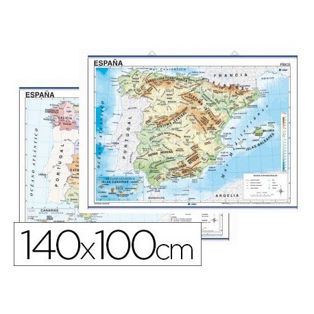 Edigol 6101.0 - Mapa mural