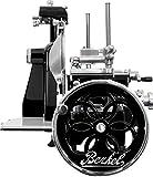 Berkel - Volano Aufschnittmaschine B2 Modell - Schwarz mit Silberdekoren - Neues Modell 2018