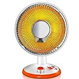 heater Mini Appareil de Chauffage portatif, radiateur soufflant idéal pour Les Bureaux et Les Tables, élément Chauffant à Tube halogène, Protection Anti-Extinction Automatique, Blanc