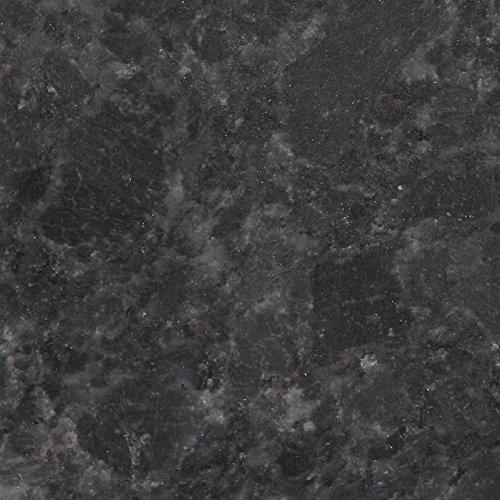 Granit Gartentisch Pearl Black Satiniert Mit Facettenschliff    Rechteckiger, Dunkelgrauer Granittisch U0027Bergamou0027 180x90