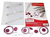 Set Nova Metal Knit Pro ferri da maglia circolari intercambiabili