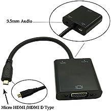 Micro HDMI a VGA