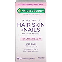 Natures Bounty Extra Strength Hair Skin Nails, 150 Count by Natures Bounty