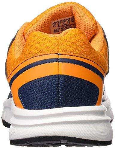adidas, Herren Galaxy Laufschuhe Mehrfarbig (Naranja / Gris / Azul (Eqtnar / Plamat / Azumin))