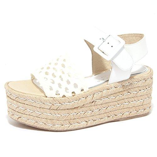8923P sandalo PALOMITAS BY PALOMA BARCELO bianco scarpa donna sandal woman [38]