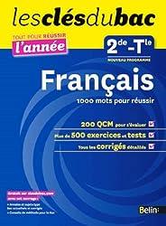 Cls du Bac - Franais 2e 1000 mots pour russir - Russir l'anne