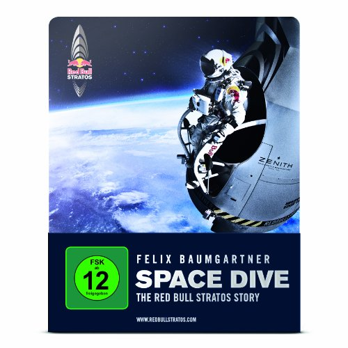 SPACE DIVE - THE RED BULL STRATOS STORY (deutsche Version) (Steelbook Edition) (Blu-ray, DVD, Digital Copy)