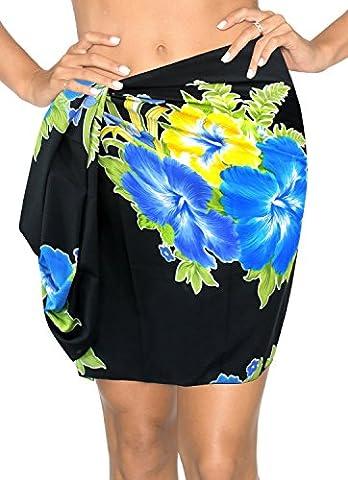 Floral Hawaiian Canga Swimsuit Bikini Cover up Sarong Mini Plus