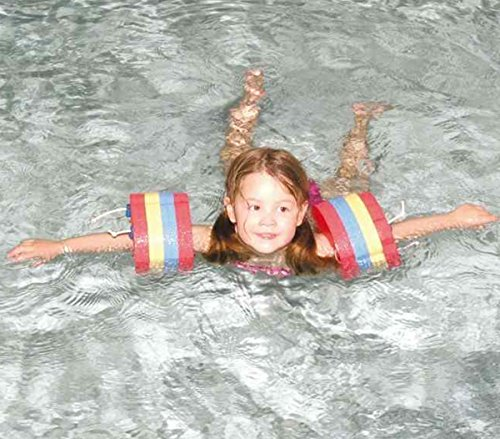 Piscina per bambini imparare a nuotare sicurezza Formazione dischi galleggianti di bracciali, Set di 8